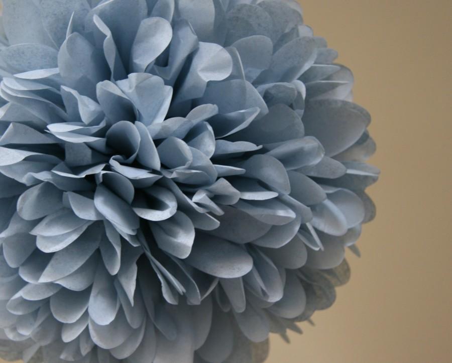 Свадьба - Silver blue - one pom