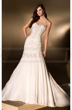 Hochzeit - Essense Wedding Dress Style D1408 Taffeta A-Line Strapless