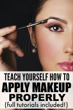 Свадьба - 8 Tutorials To Teach You How To Apply Make-up Like A Pro