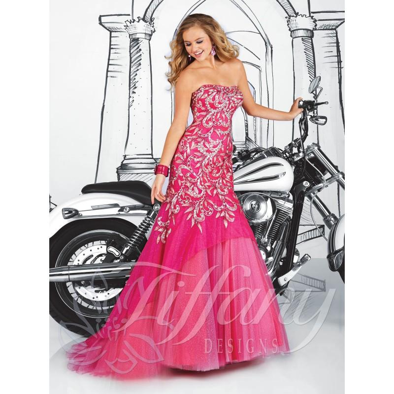 Свадьба - Unique Cheap 2014 New Style Tiffany Prom Dresses 16048 - Cheap Discount Evening Gowns