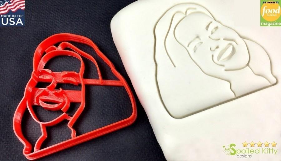 Hochzeit - Custom Portrait Selfie Cookie Cutter and Custom Portrait Fondant Cutter  for Valentine's Days, Weddings
