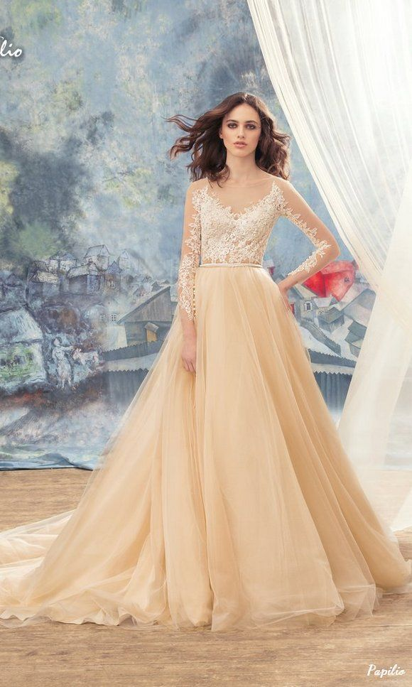 """Wedding - """"Wings Of Love"""" 2017 Wedding Dresses From Papilio"""