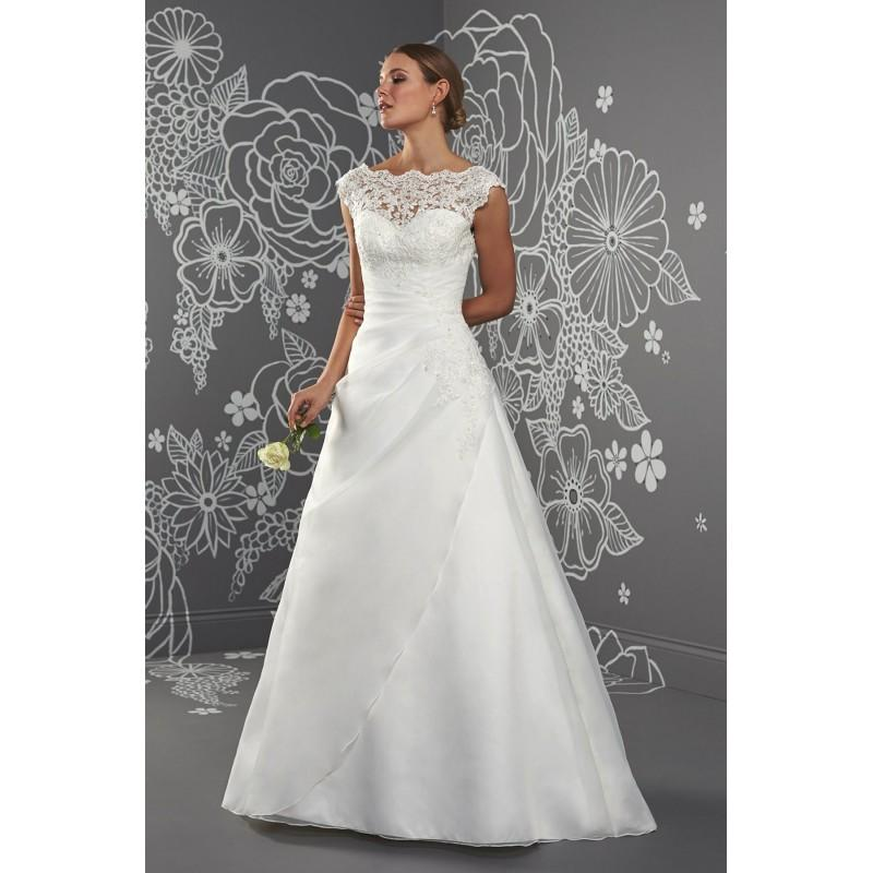 Hochzeit - Emma by Romantica of Devon - Organza Floor High A-Line Wedding Dresses - Bridesmaid Dress Online Shop