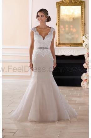 Mariage - Stella York Vintage Trumpet Wedding Dress Style 6398