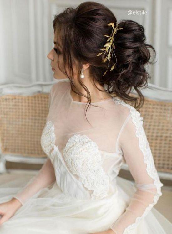 Wedding - 50 Wow-Worthy Long Wedding Hairstyles From Elstile