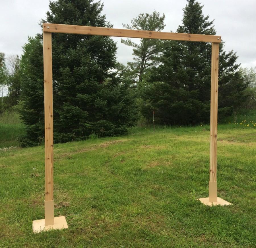 Mariage - 3 Piece Cedar Wedding Arch