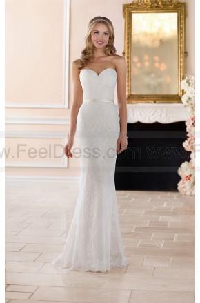 Mariage - Stella York Classic Lace Sheath Wedding Gown Style 6350