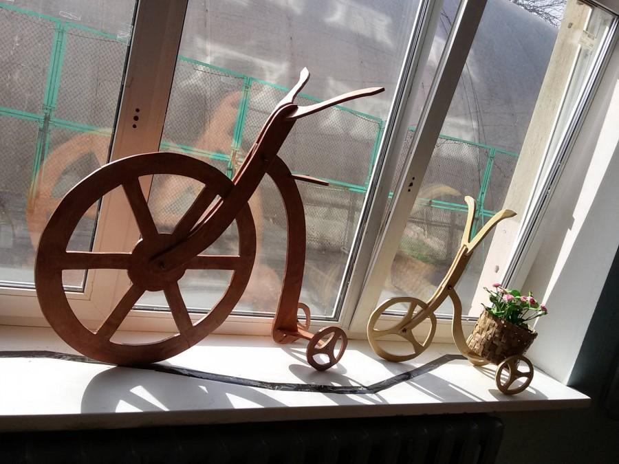 Mariage - bicycle for flowers