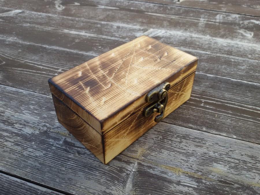 Mariage - reclaimed wood ring box wood ring box wedding wedding ring box wedding ring holder Proposal ring box wedding ring holder ring bearer box