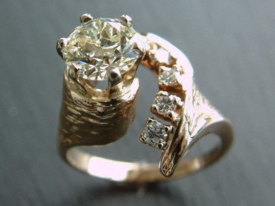 Mariage - Vintage Cut Diamond Ring