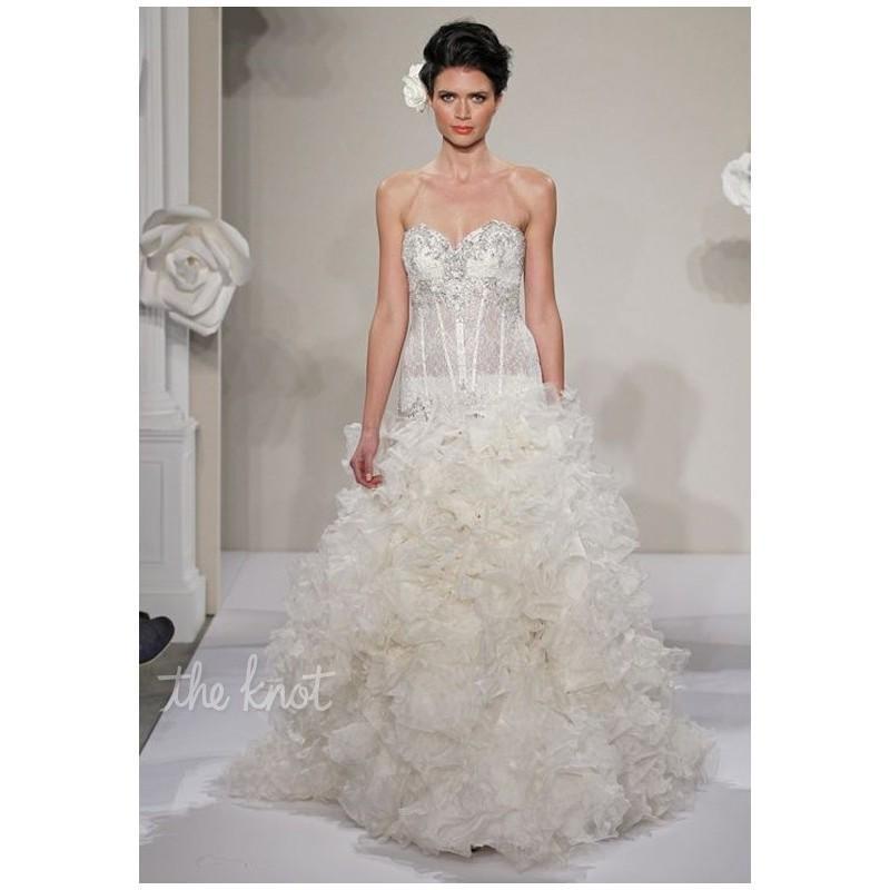 Wedding - Pnina Tornai for Kleinfeld 4214 - Charming Custom-made Dresses