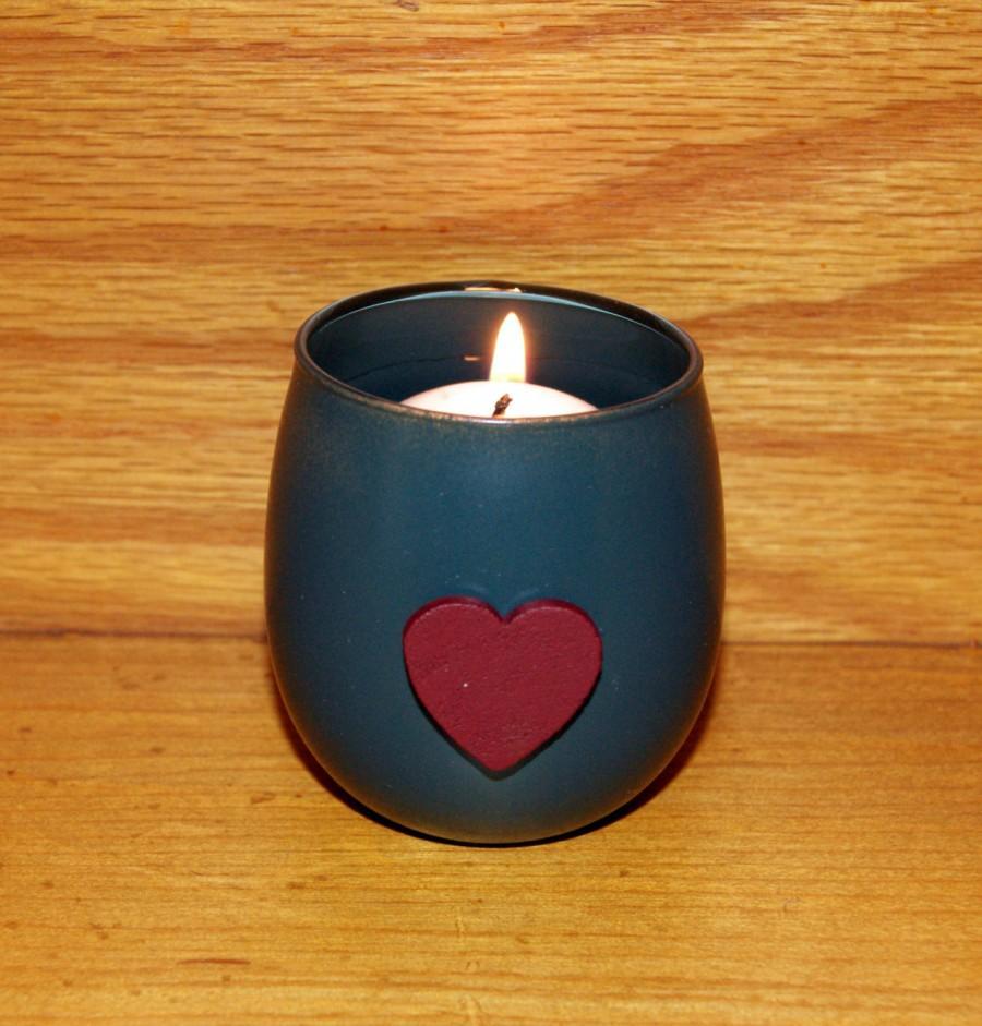 زفاف - Green Wedding / Autumn Wedding / Wedding Votive Candle Holder / Woodland Wedding / Boho Wedding / Burgundy and Green Wedding Decoration / 6