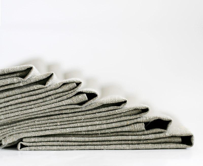 Свадьба - Linen napkins set - linen napkins bulk - custom wedding napkins - personalized napkins set of 16    0255