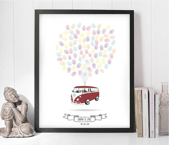 Unique Wedding Gifts For Bride And Groom: VW Campervan Wedding, Unique Wedding Gifts For Couple