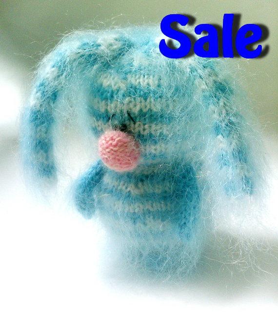 Mini Bunny Amigurumi Keychain Little Bunny by BubblyTeaShop ... | 644x570