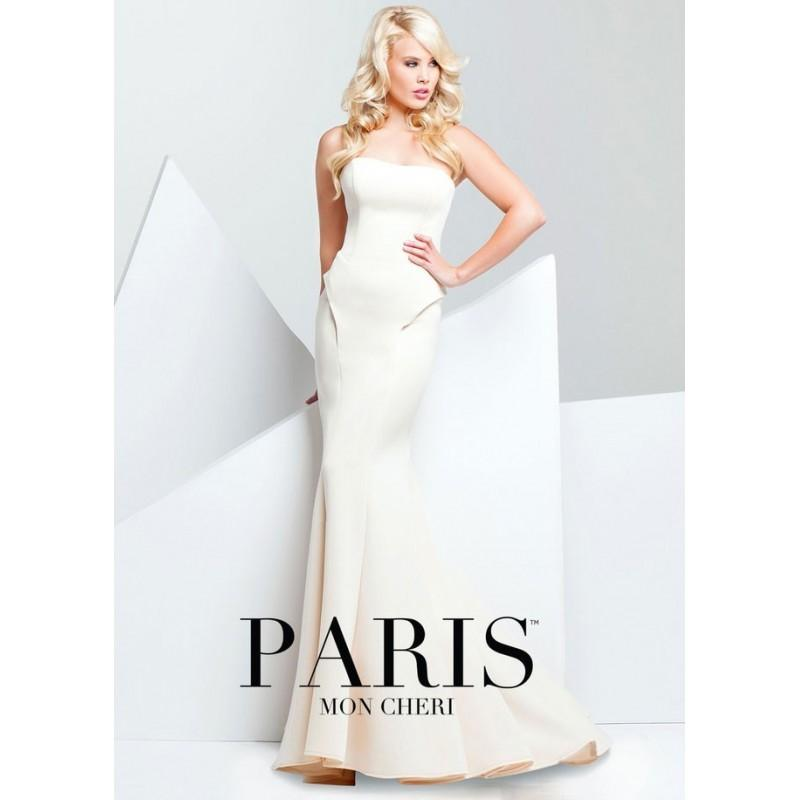 Свадьба - Paris by Mon Cheri 115704 Strapless Jersey Mermaid - 2017 Spring Trends Dresses
