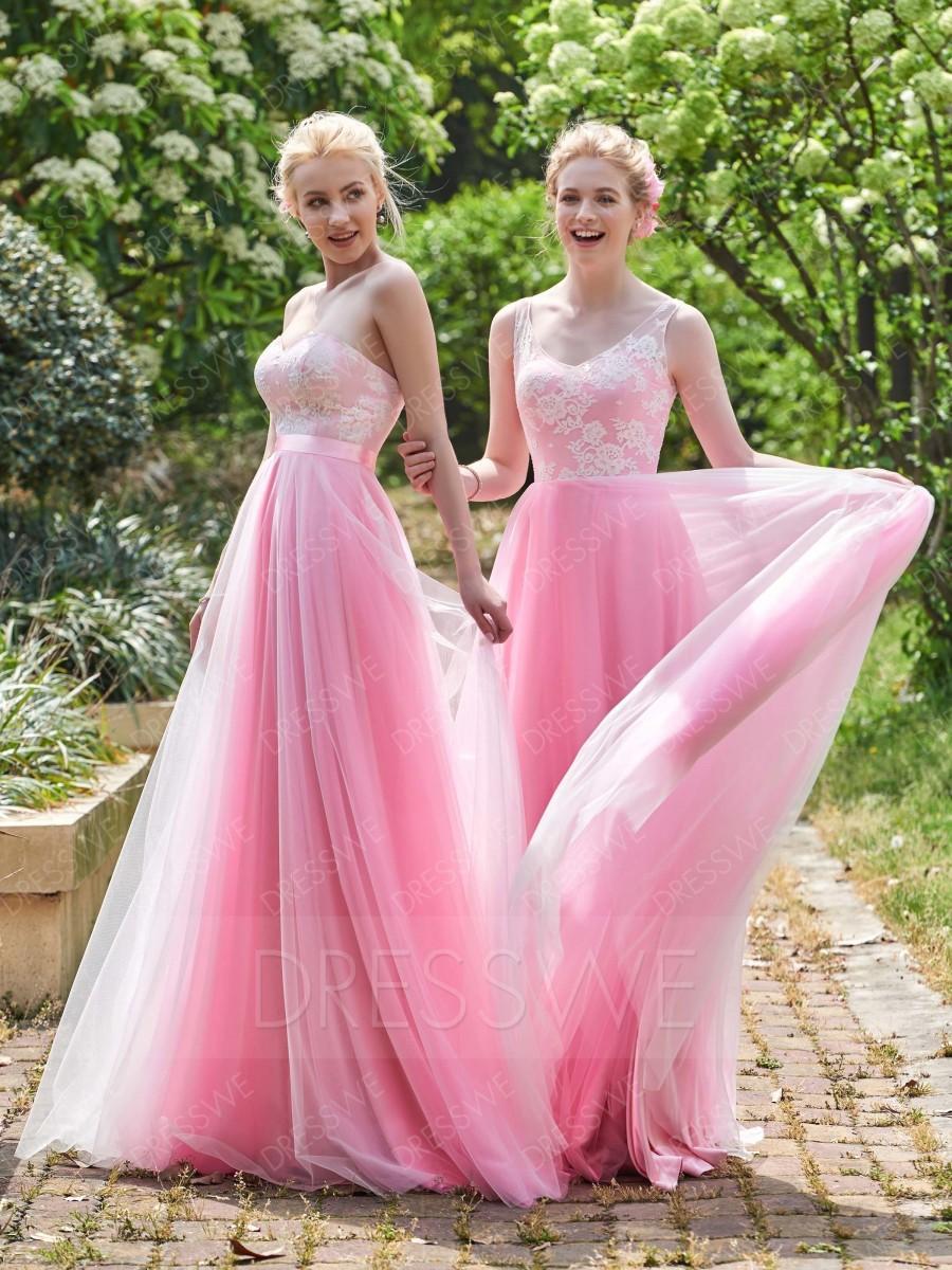 Hochzeit - Delicate Swetheart Lace Zipper-Up A-Line Bridesmaid/Prom Dress