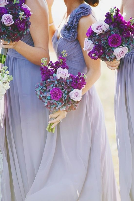 Wedding - Lavender Bridesmaids