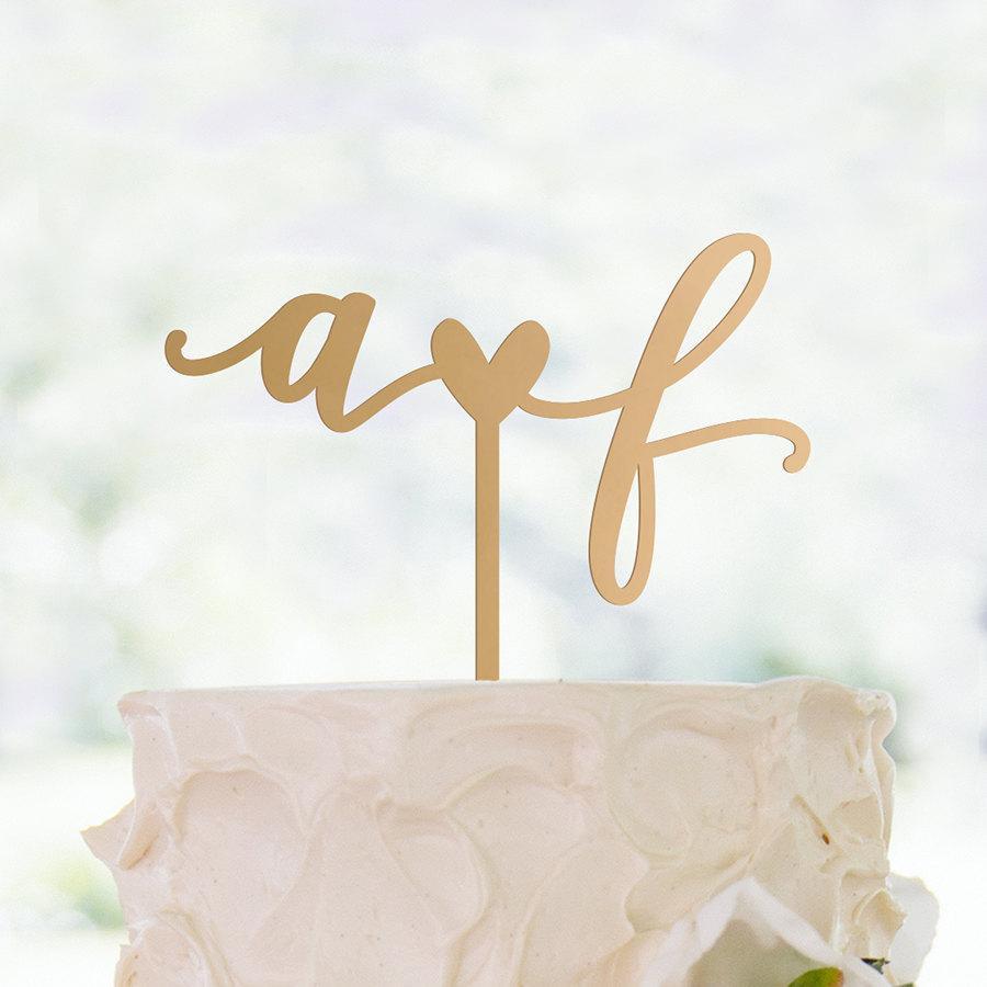 زفاف - Cake Topper
