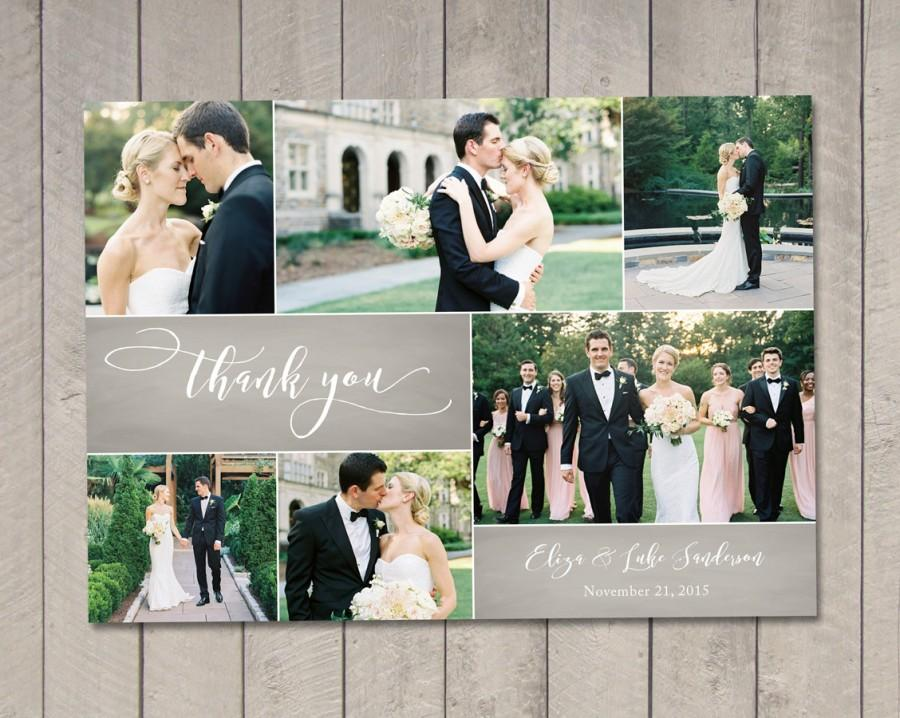 Wedding - Wedding Thank You Card (Printable) by Vintage Sweet