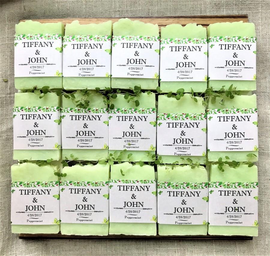 50 Wedding Favor Soaps Wedding Soap Soap Favors Wedding Favors