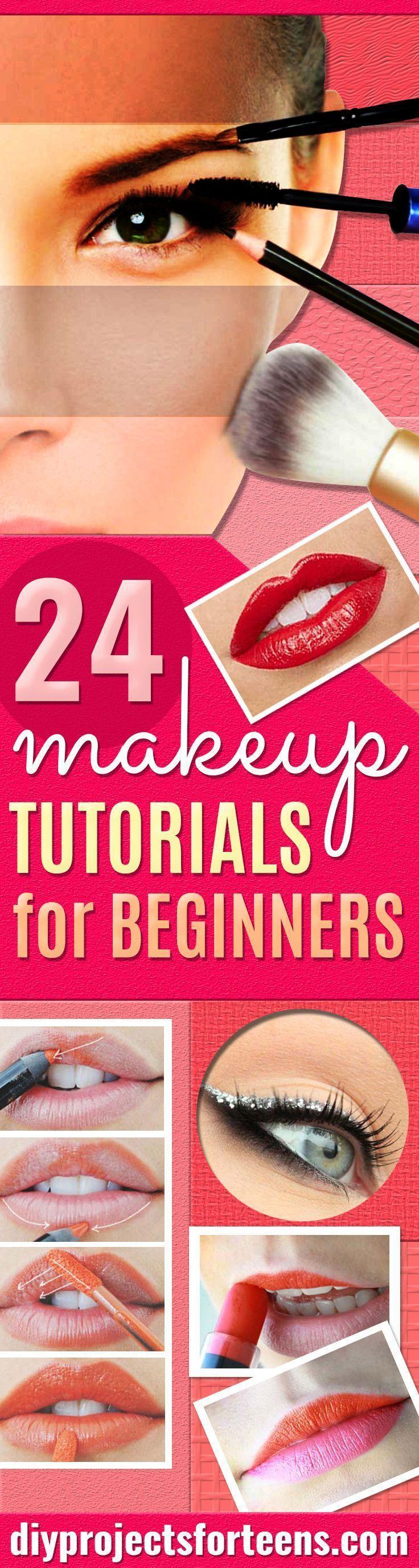 Свадьба - 24 Cool Makeup Tutorials For Teens