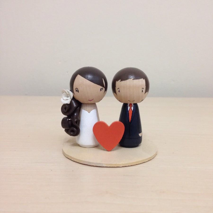 Wedding - Little Wishes: Kokeshi Wedding Cake Topper