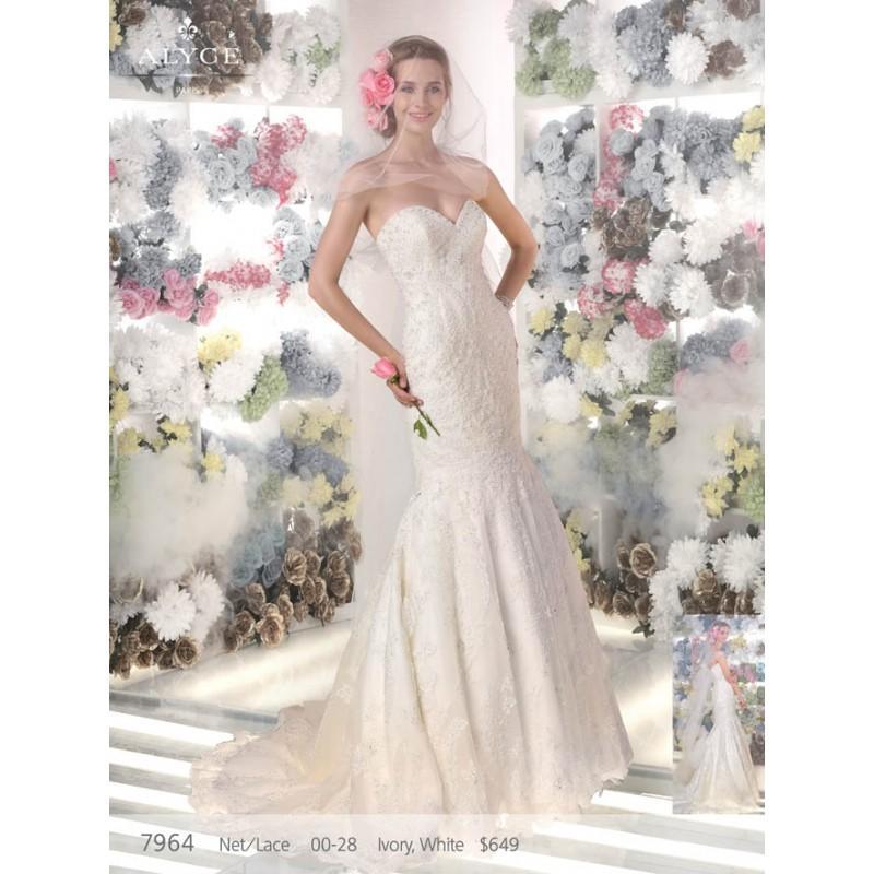 Wedding - Alyce 7964 - Stunning Cheap Wedding Dresses