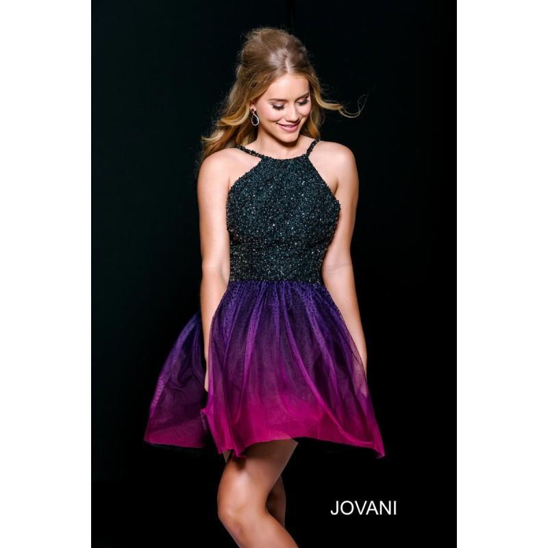 blackpurple jovani homecoming 42206 jovani homecoming