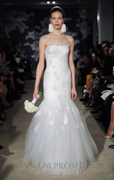 Mariage - Carolina Herrera Claribelle Wedding Dresses - OWPROM.com