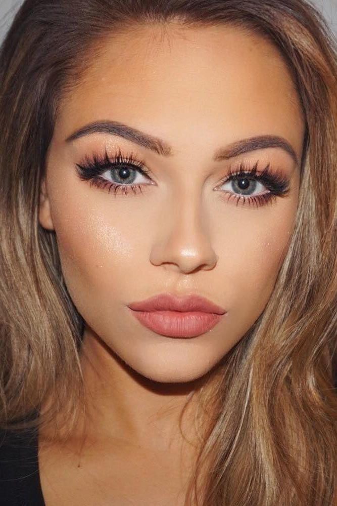 Свадьба - The Most Romantic Makeup And Hairstyles That Catch Your Eyes