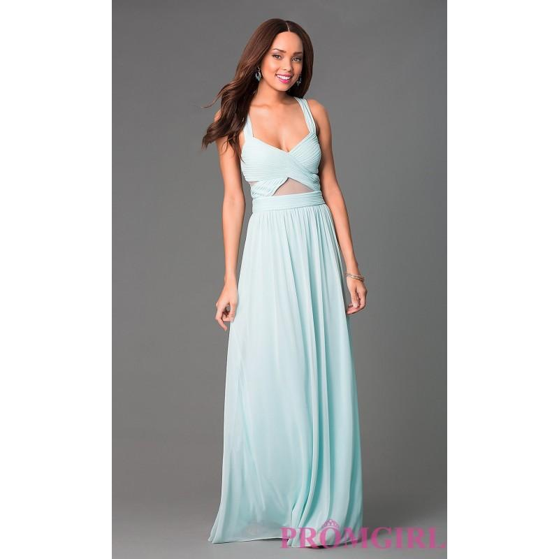 Floor Length Formal Dress By Betsy And Adam - Brand Prom Dresses ...
