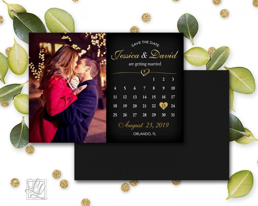 Save The Date Magnets Wedding Announcement Photo Gift Bridesmaid