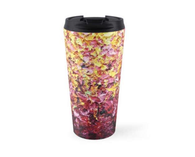 7e21e822311 Travel Mug, Stainless Steel Coffee Mug, Coffee Cup With Lid, 15oz ...