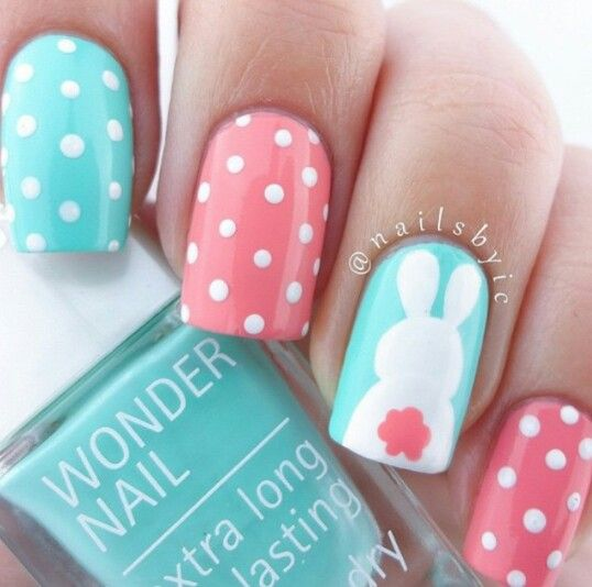 Wedding - 14 Easter Manicure Ideas You Will Love As Much As Chocolate Eggs