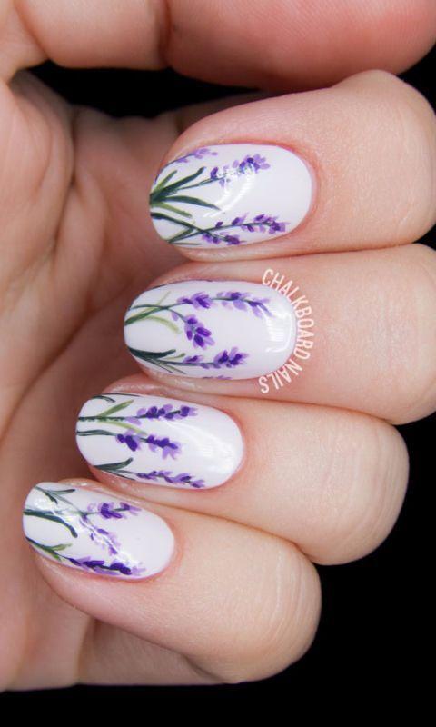 Wedding - 20 Spring Nail Designs 2017
