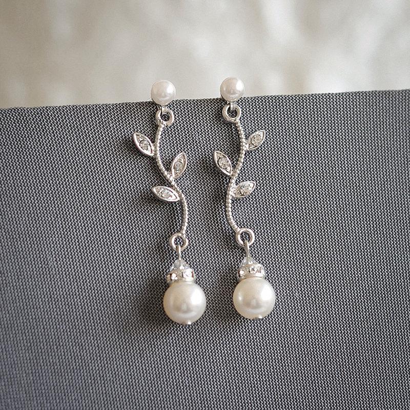 Leaf Bridal Jewelry