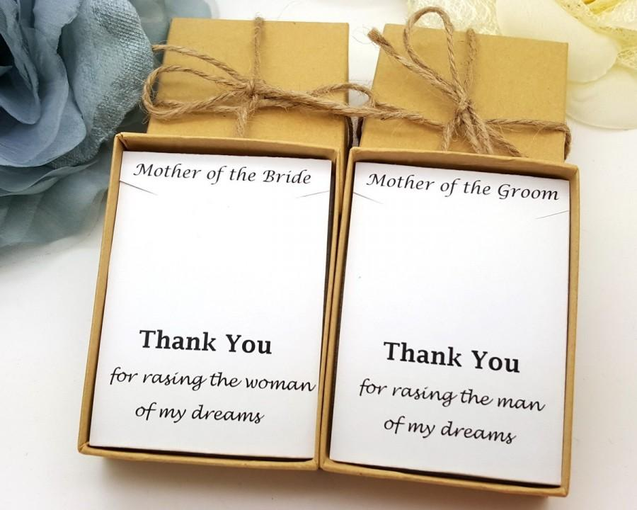 Mariage - Mother of Groom Necklace, Mother of bride Necklace, Message ,Gift Box, Necklace gift box #1