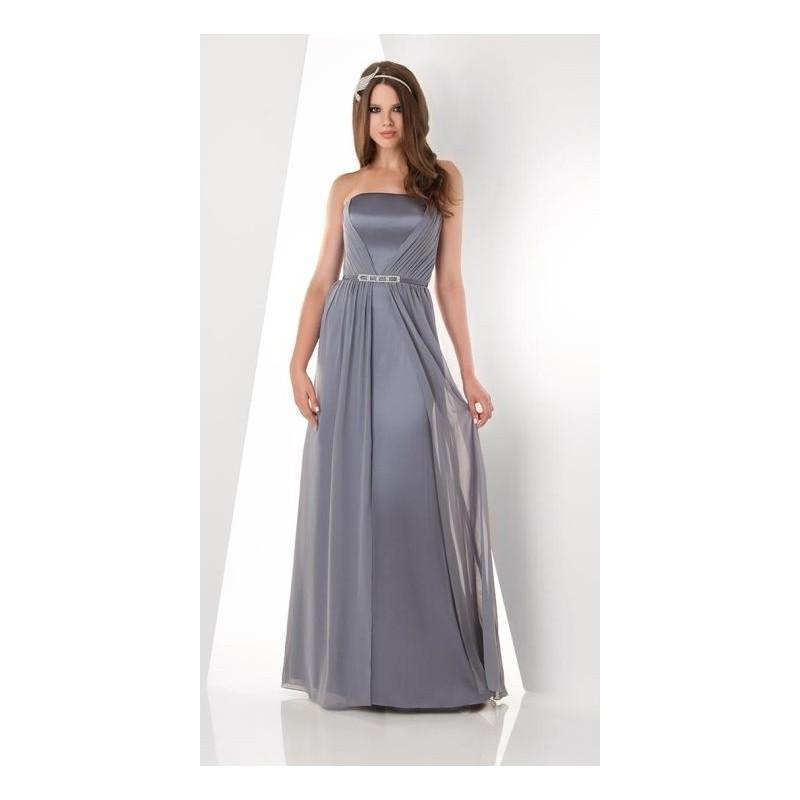 زفاف - Bari Jay 860 Shirred Bridesmaid Dress - Brand Prom Dresses