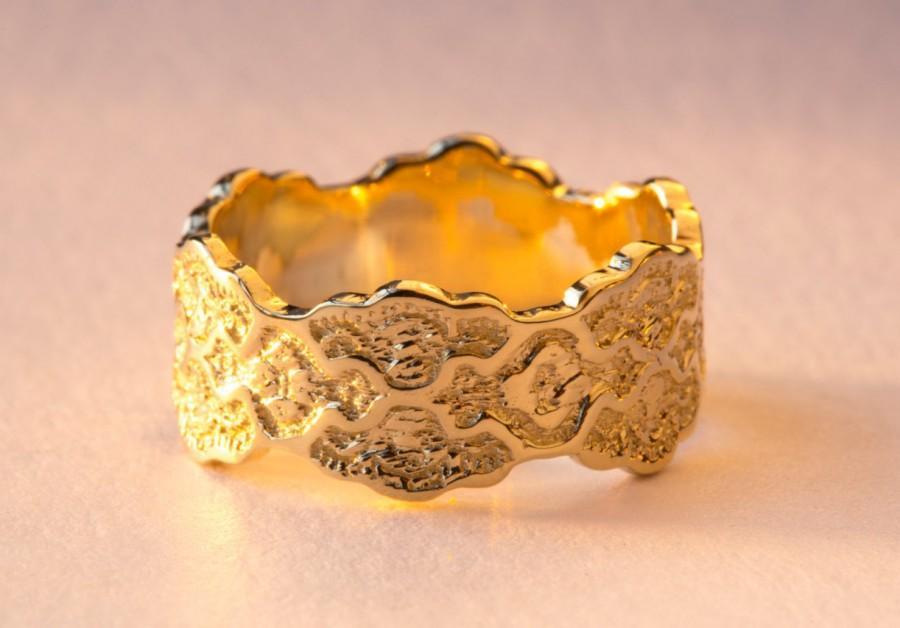 زفاف - 18K Gold Wedding Ring, 18K Gold Ring, Women Wedding Ring, Wedding Rings Woman, 18K Wedding Ring, Gold 18K Wedding Band, Anniversary Ring