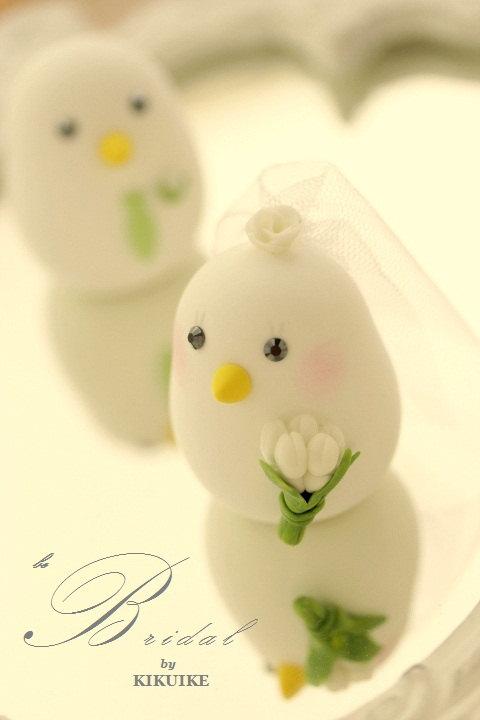 Love Birds Bride And Groom Wedding Cake Topper (K344) #2695739 ...