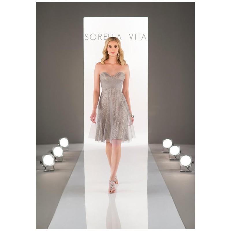 Свадьба - Sorella Vita 8683 Bridesmaid Dress - The Knot - Formal Bridesmaid Dresses 2017