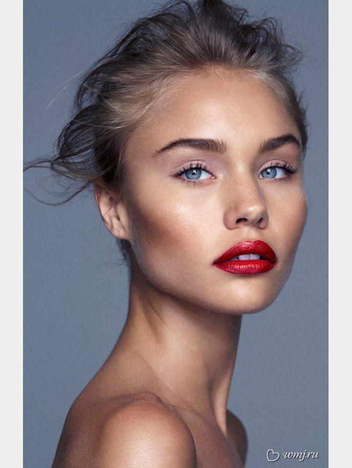 Свадьба - Bright Red Lips For The Holiday Season