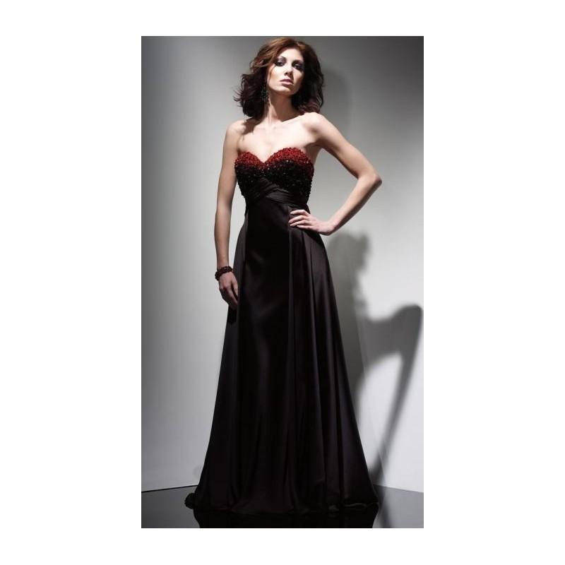 Wedding - Claudine for Alyce Prom Basque Waist Evening Dress 2006 - Brand Prom Dresses