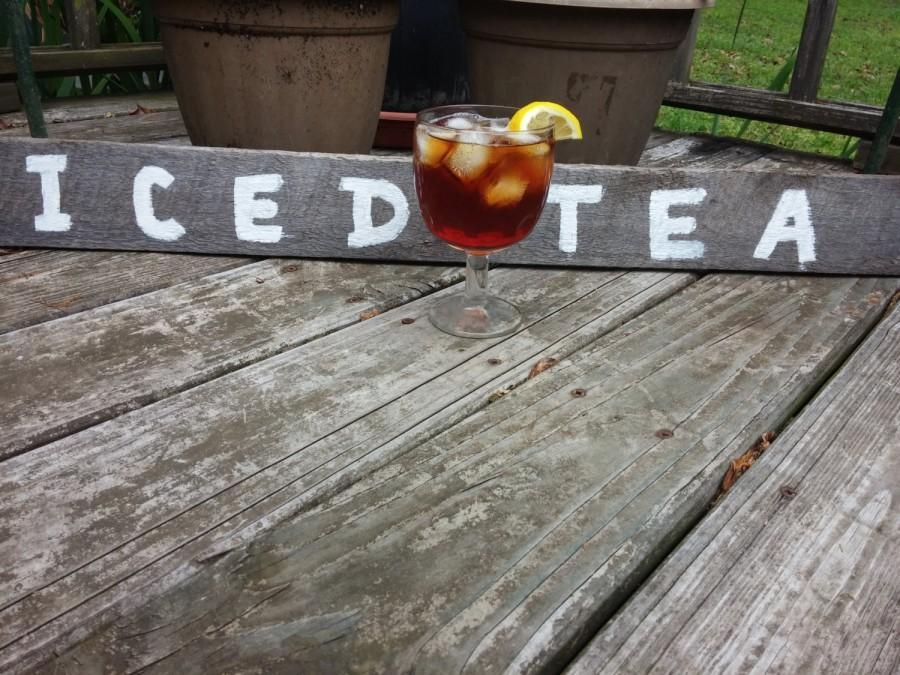 Mariage - Iced Tea Tea Sign Wedding Drink Sign Beverage Sign Wedding Sign Country Wedding Rustic Wedding Wood Sign