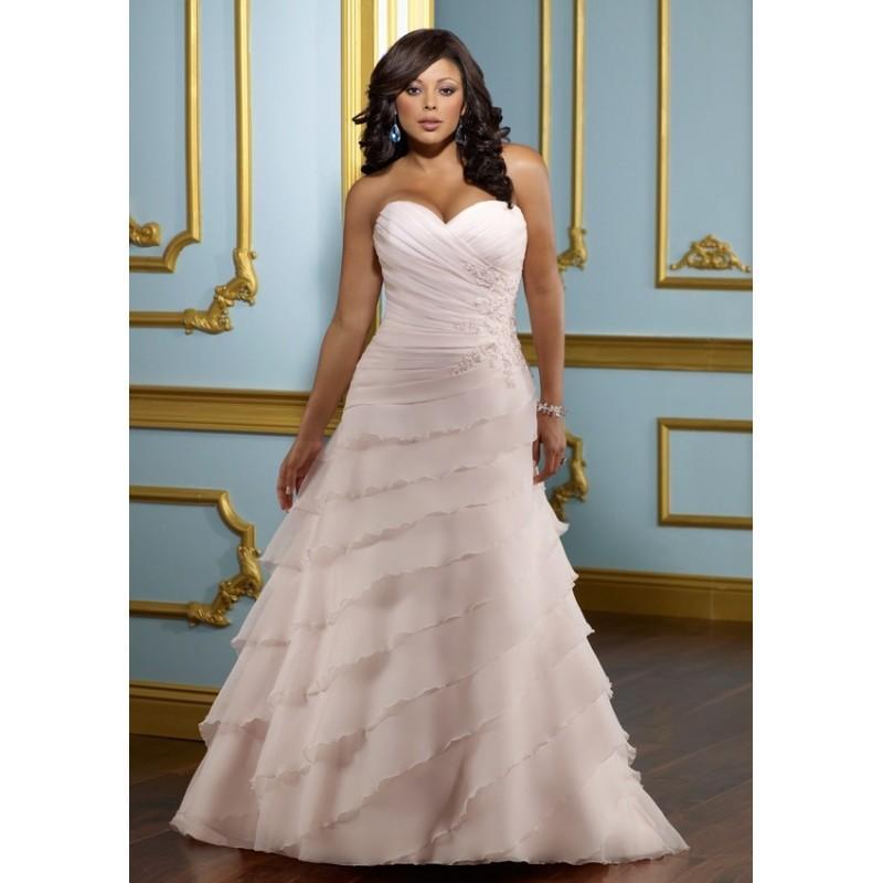 Mori Lee Julietta 3112 Plus Size Wedding Dress
