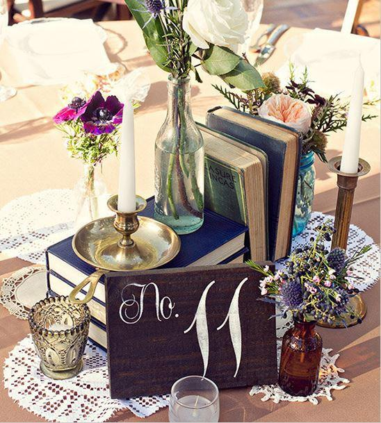 Свадьба - Wedding Table Numbers, Table Number Wedding, Rustic Table Number, Barn Wedding - Single Wedding Table Number - TB-4