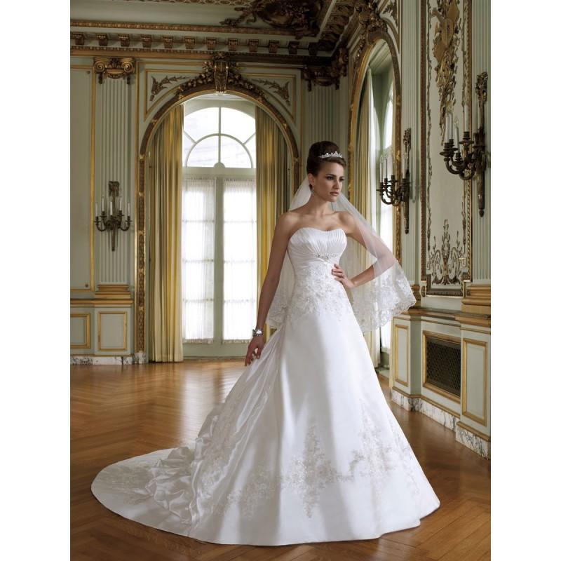 Schulterfreies Crystal Organza Volle Marone Formale Brautkleid ...