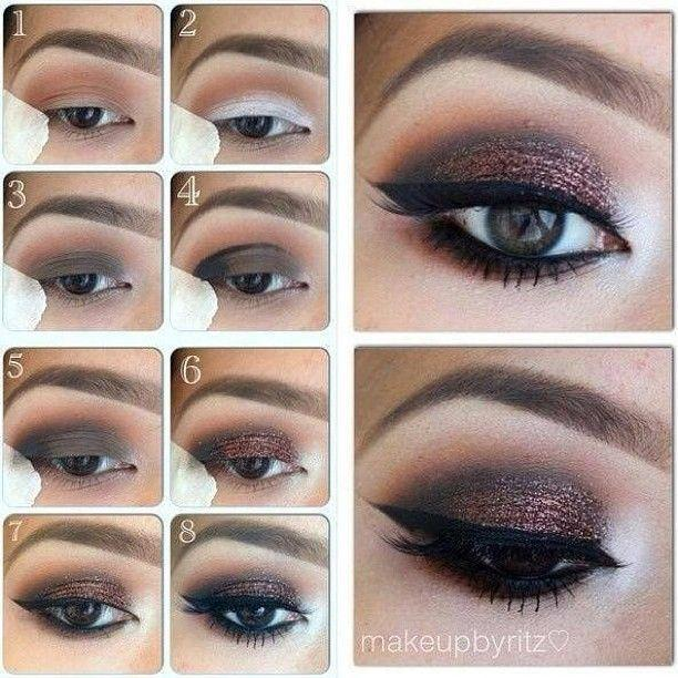 Mariage - Step By Step Eye Makeup - PICS. My Collection