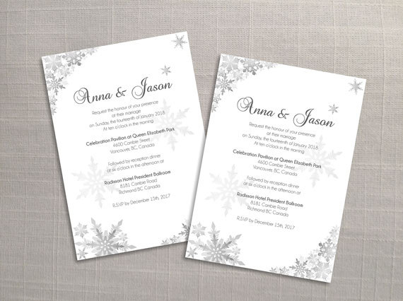 DIY Printable Wedding Invitation Card Template 2696591 Weddbook